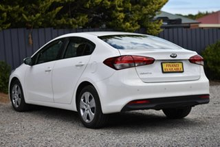 2018 Kia Cerato YD MY18 S White 6 Speed Sports Automatic Sedan