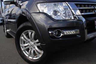 2016 Mitsubishi Pajero NX MY17 GLX Graphite 5 Speed Sports Automatic Wagon.