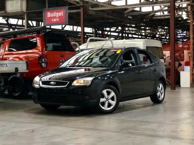 Used Ford Focus LT CL Mile End South, 2008 Ford Focus LT CL Black 4 Speed Sports Automatic Hatchback
