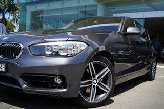 2016 BMW 120i F20 LCI Sport Line Mineral Grey 8 Speed Automatic Hatchback.
