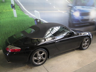 2001 Porsche 911 Carrera Black 6 Speed Manual Cabriolet.