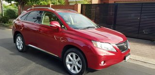 2010 Lexus RX350 GGL15R Sports Luxury Burgundy 6 Speed Automatic Wagon.