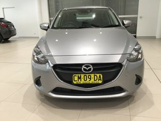 2017 Mazda 2 DJ2HAA Maxx SKYACTIV-Drive Silver 6 Speed Sports Automatic Hatchback