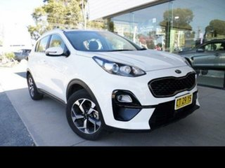 2019 Kia Sportage QL MY19 SI (FWD) White 6 Speed Automatic Wagon.