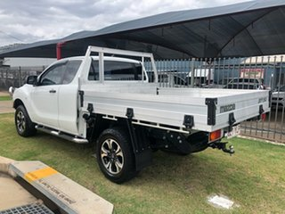2018 Mazda BT-50 XT Hi-Rider (4x2) (5Yr) White 6 Speed Automatic Freestyle Cab Chassis.