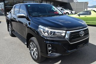 2019 Toyota Hilux GUN126R SR5 Double Cab Black 6 Speed Sports Automatic Utility.