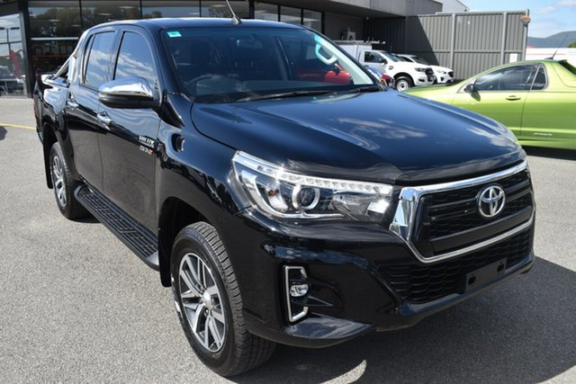 Used Toyota Hilux GUN126R SR5 Double Cab Wantirna South, 2019 Toyota Hilux GUN126R SR5 Double Cab Black 6 Speed Sports Automatic Utility