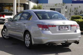 2009 Honda Accord 8th Gen V6 Luxury Alabaster Silver 5 Speed Sports Automatic Sedan.