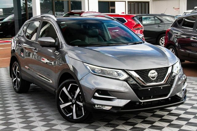 Used Nissan Qashqai J11 Series 2 Ti X-tronic Attadale, 2019 Nissan Qashqai J11 Series 2 Ti X-tronic Gun Metallic 1 Speed Constant Variable Wagon