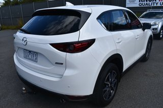 2017 Mazda CX-5 KF4W2A GT SKYACTIV-Drive i-ACTIV AWD White 6 Speed Sports Automatic Wagon.