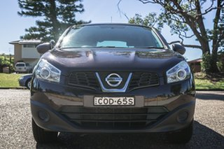 2012 Nissan Dualis J10 Series II MY2010 ST Hatch Black 6 Speed Manual Hatchback