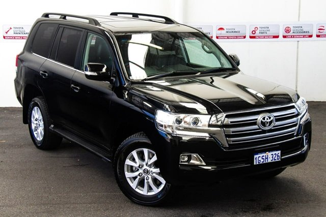 Pre-Owned Toyota Landcruiser VDJ200R VX Rockingham, 2018 Toyota Landcruiser VDJ200R VX Eclipse Black 6 Speed Sports Automatic Wagon