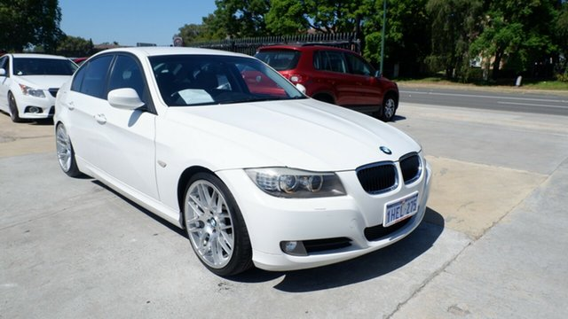 Used BMW 3 Series E90 MY09 320d Steptronic Executive St James, 2009 BMW 3 Series E90 MY09 320d Steptronic Executive White 6 Speed Sports Automatic Sedan