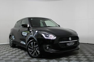 2020 Suzuki Swift AZ GLX Turbo Super Black 6 Speed Sports Automatic Hatchback.