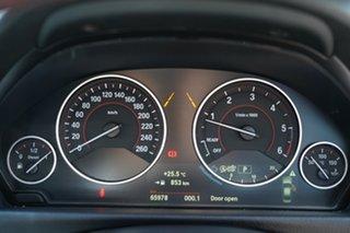 2015 BMW 320d F30 MY15 Upgrade Sport Line Black Sapphire 8 Speed Automatic Sedan