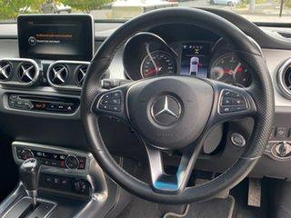 2019 Mercedes-Benz X-Class 470 X350d 7G-Tronic + 4MATIC Progressive Black 7 Speed Sports Automatic