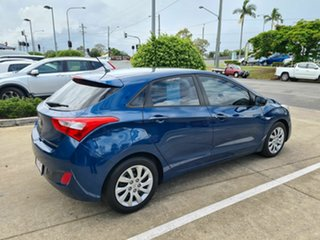 2014 Hyundai i30 GD2 Active Blue 6 Speed Manual Hatchback.