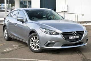 2014 Mazda 3 BM5478 Maxx SKYACTIV-Drive Silver 6 Speed Sports Automatic Hatchback.