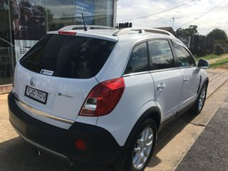 2012 Holden Captiva CG Series II 5 White Sports Automatic