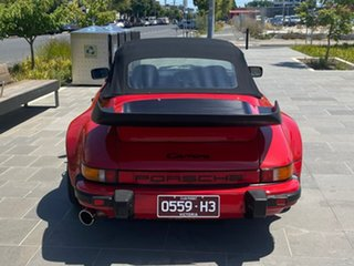 1987 Porsche 911 Carrera Cabriolet Red 5 Speed Manual Convertible