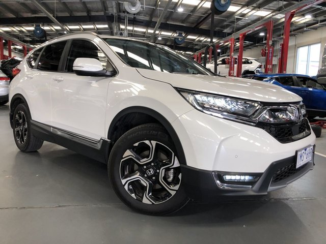 Pre-Owned Honda CR-V MY18 VTi-LX (AWD) Oakleigh, 2018 Honda CR-V MY18 VTi-LX (AWD) White Continuous Variable Wagon