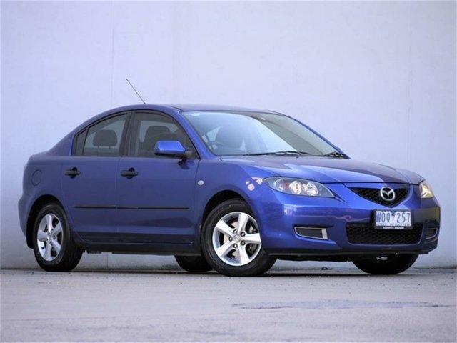 Used Mazda 3 BK10F2 Neo Cheltenham, 2008 Mazda 3 BK10F2 Neo Blue 4 Speed Sports Automatic Sedan