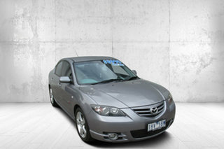 2005 Mazda 3 BK1031 SP23 Silver 4 Speed Sports Automatic Sedan.