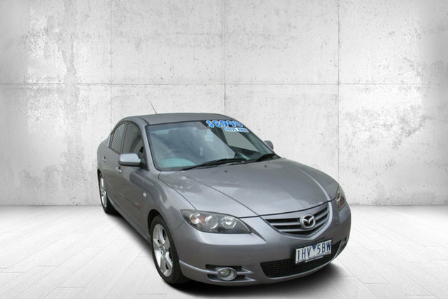 Used Mazda 3 BK1031 SP23 Bendigo, 2005 Mazda 3 BK1031 SP23 Silver 4 Speed Sports Automatic Sedan