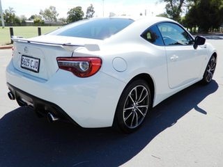 2018 Toyota 86 ZN6 GTS White 6 Speed Sports Automatic Coupe.