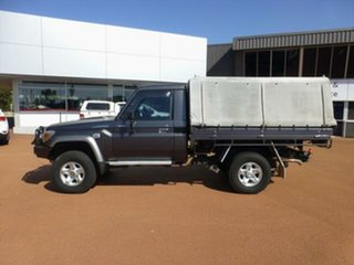 2013 Toyota Landcruiser VDJ79R MY12 Update GXL (4x4) Graphite 5 Speed Manual Cab Chassis.