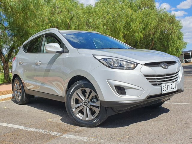 Used Hyundai ix35 LM3 MY15 Active Nailsworth, 2015 Hyundai ix35 LM3 MY15 Active Silver 6 Speed Sports Automatic Wagon