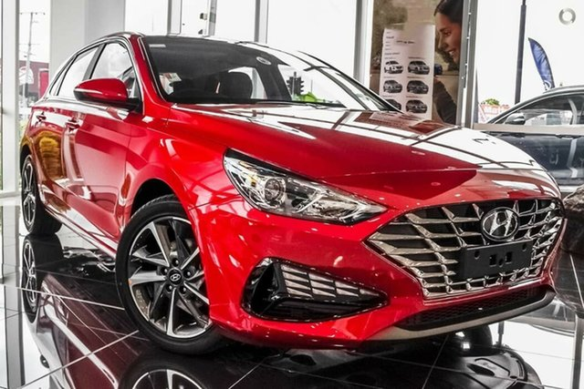 New Hyundai i30 PD.V4 MY21 Active Nailsworth, 2021 Hyundai i30 PD.V4 MY21 Active Fiery Red 6 Speed Sports Automatic Hatchback