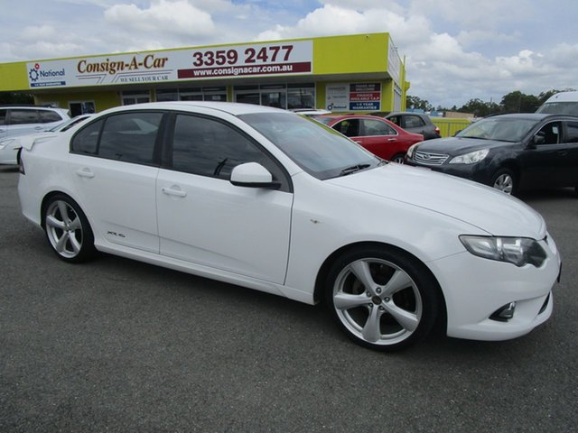 Used Ford Falcon Kedron, 2011 Ford Falcon XR6FG UPGRADE White Sedan