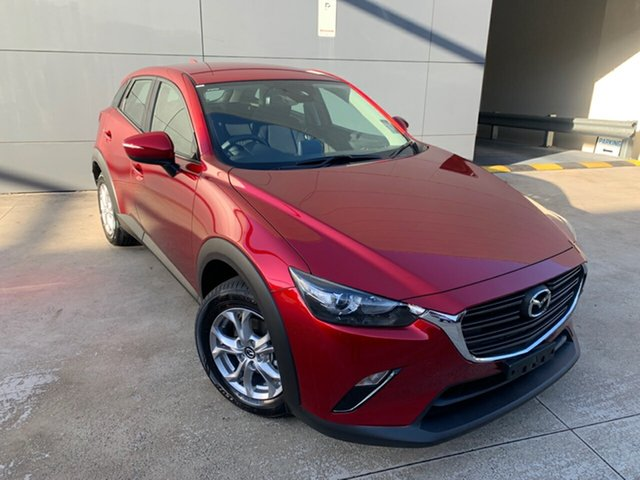 New Mazda CX-3 DK2W76 Maxx SKYACTIV-MT FWD Sport Alexandria, 2021 Mazda CX-3 DK2W76 Maxx SKYACTIV-MT FWD Sport Soul Red Crystal 6 Speed Manual Wagon