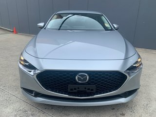 2020 Mazda 3 BP2S7A G20 SKYACTIV-Drive Touring Sonic Silver 6 Speed Sports Automatic Sedan