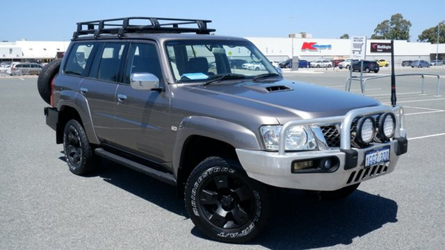 Used Nissan Patrol GU 6 MY08 TI Maddington, 2008 Nissan Patrol GU 6 MY08 TI Gold 5 Speed Manual Wagon