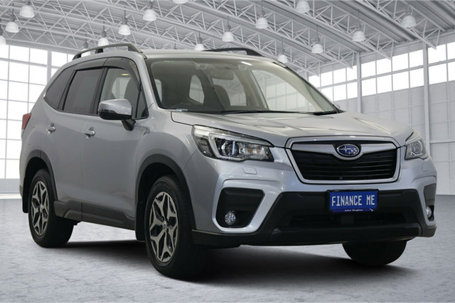 Used Subaru Forester S5 MY19 2.5i CVT AWD Victoria Park, 2018 Subaru Forester S5 MY19 2.5i CVT AWD Ice Silver 7 Speed Constant Variable Wagon