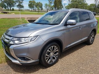 2018 Mitsubishi Outlander ZL MY18.5 LS 2WD Green 6 Speed Constant Variable Wagon.