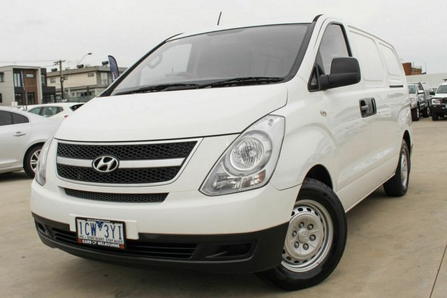 Used Hyundai iLOAD TQ2-V MY14 Coburg North, 2014 Hyundai iLOAD TQ2-V MY14 White 6 Speed Manual Van