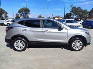 2017 Nissan Qashqai J11 ST Silver, Chrome 1 Speed Constant Variable Wagon.