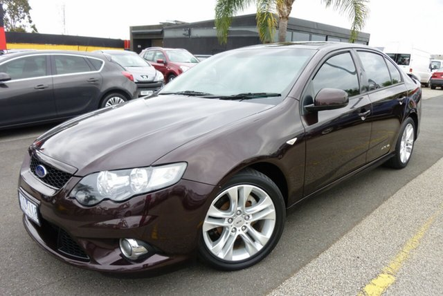 Used Ford Falcon FG XR6 Cheltenham, 2010 Ford Falcon FG XR6 Velvet 6 Speed Sports Automatic Sedan