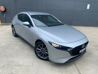 2020 Mazda 3 BP2H7A G20 SKYACTIV-Drive Evolve Sonic Silver 6 Speed Sports Automatic Hatchback.