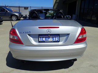 2007 Mercedes-Benz SLK280 R171 07 Upgrade Silver Lightning 7 Speed Automatic G-Tronic Convertible