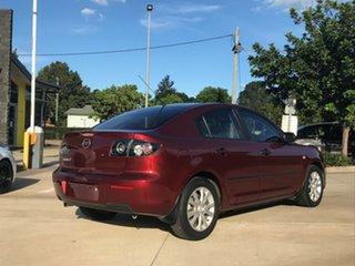 2008 Mazda 3 BK10F2 MY08 Neo Sport Red 5 Speed Manual Sedan