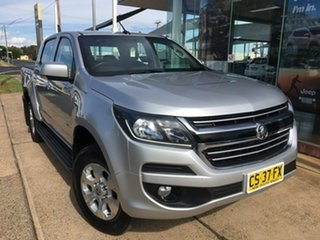 2018 Holden Colorado RG LT Silver Sports Automatic.
