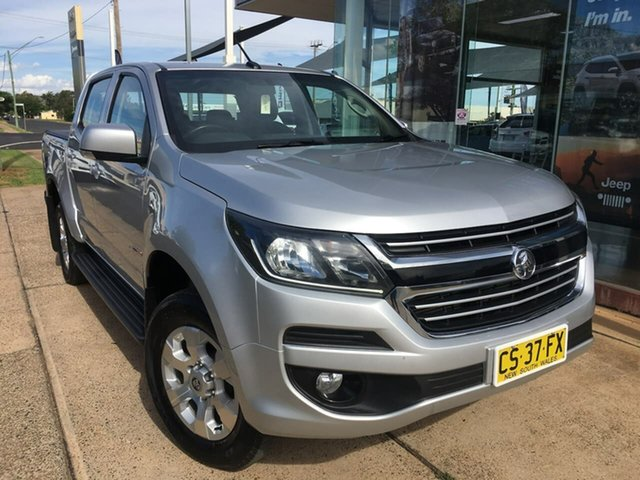 Used Holden Colorado RG LT Dubbo, 2018 Holden Colorado RG LT Silver Sports Automatic