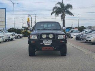 2003 Toyota Hilux VZN167R Black Automatic Utility.