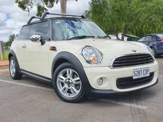 Used Mini Hatch R56 LCI Ray Steptronic Nailsworth, 2013 Mini Hatch R56 LCI Ray Steptronic Cream 6 Speed Sports Automatic Hatchback