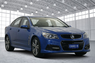2015 Holden Commodore VF MY15 SV6 Blue 6 Speed Manual Sedan.