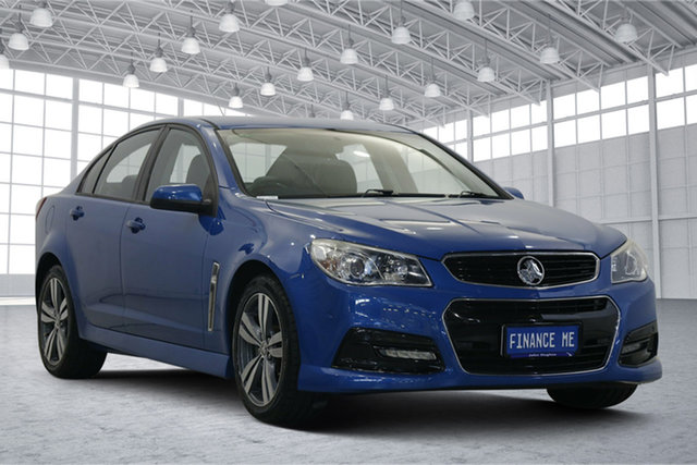 Used Holden Commodore VF MY15 SV6 Victoria Park, 2015 Holden Commodore VF MY15 SV6 Blue 6 Speed Manual Sedan